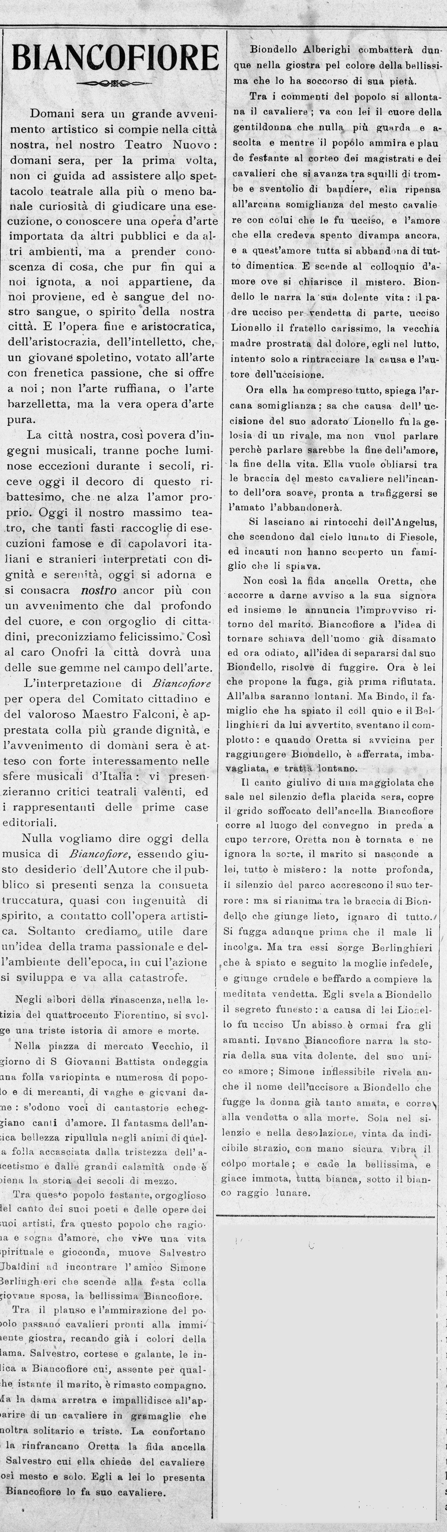 Giovane Umbria   13 agosto 1911