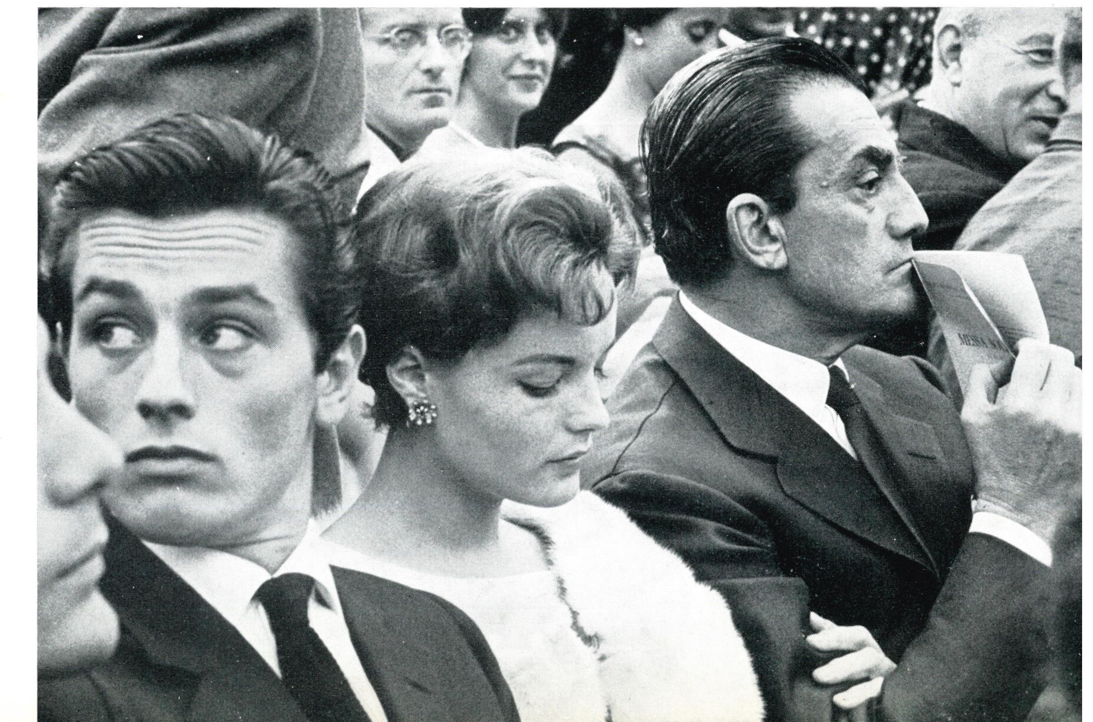 Delon, Schneider e Visconti