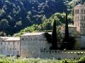 Italy, Umbria, Terni district, Ferentillo, Travel Destination, San Pietro in Valle Abbey