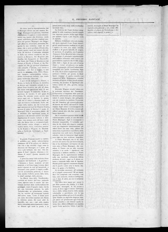 Pensiero Radicale   1 ottobre 1906