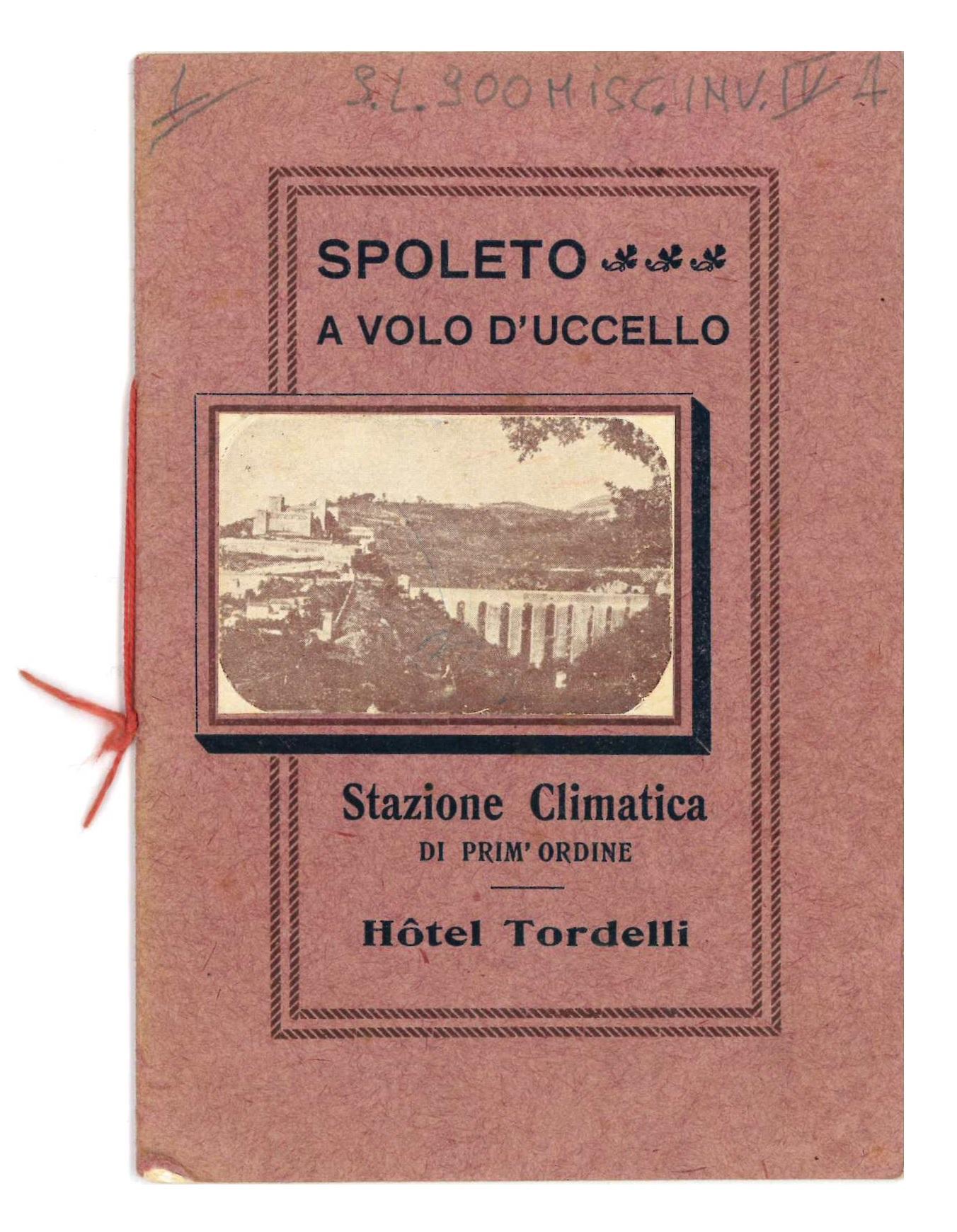 Spoleto a volo d'uccello | Guida hotel Tordelli