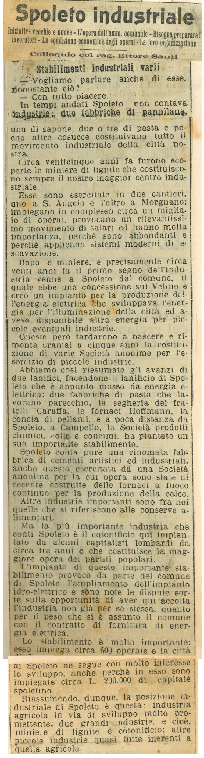 Il Messaggero   Maggio 1910