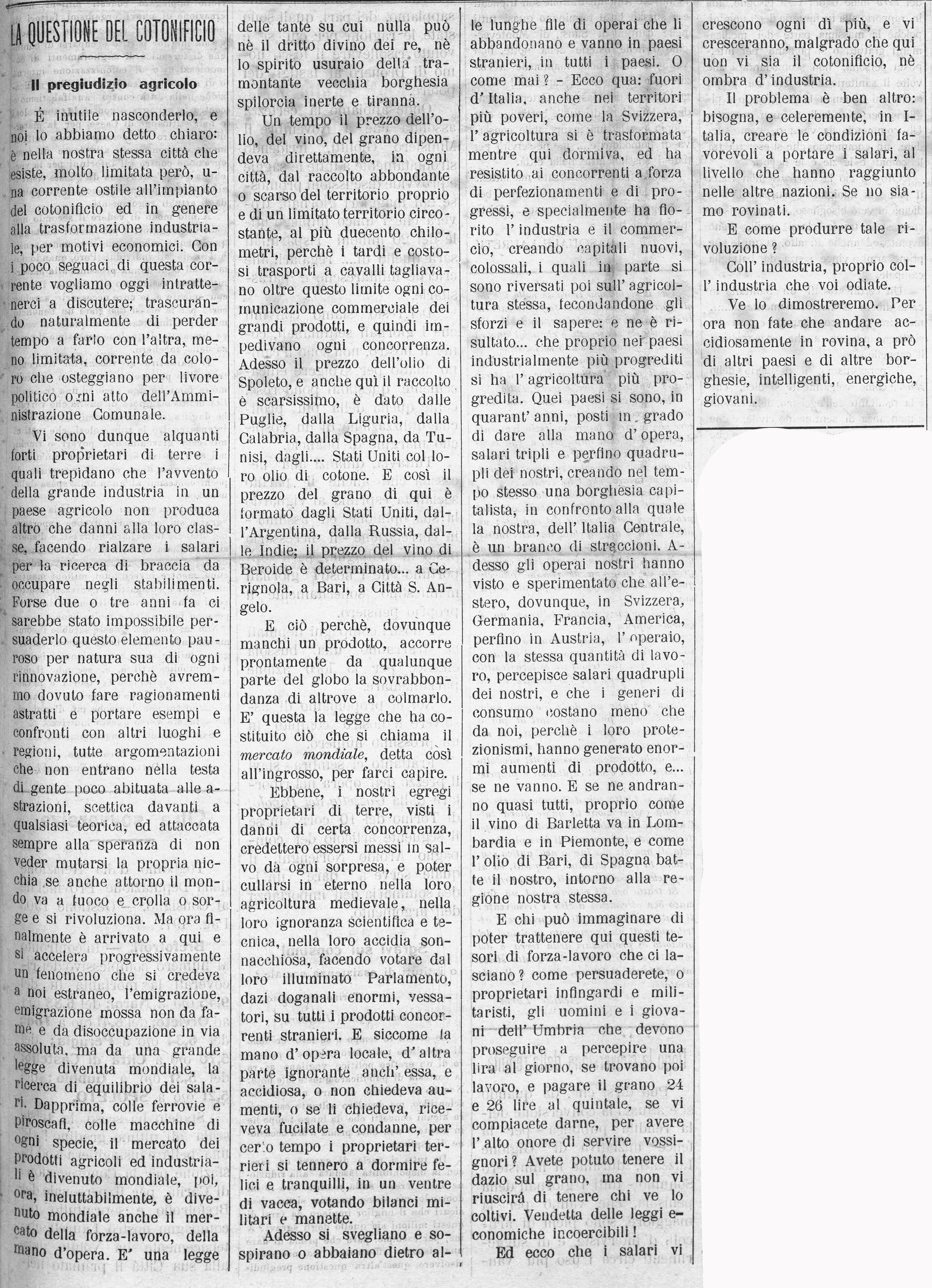 La Giovane Umbria   16 settembre 1906