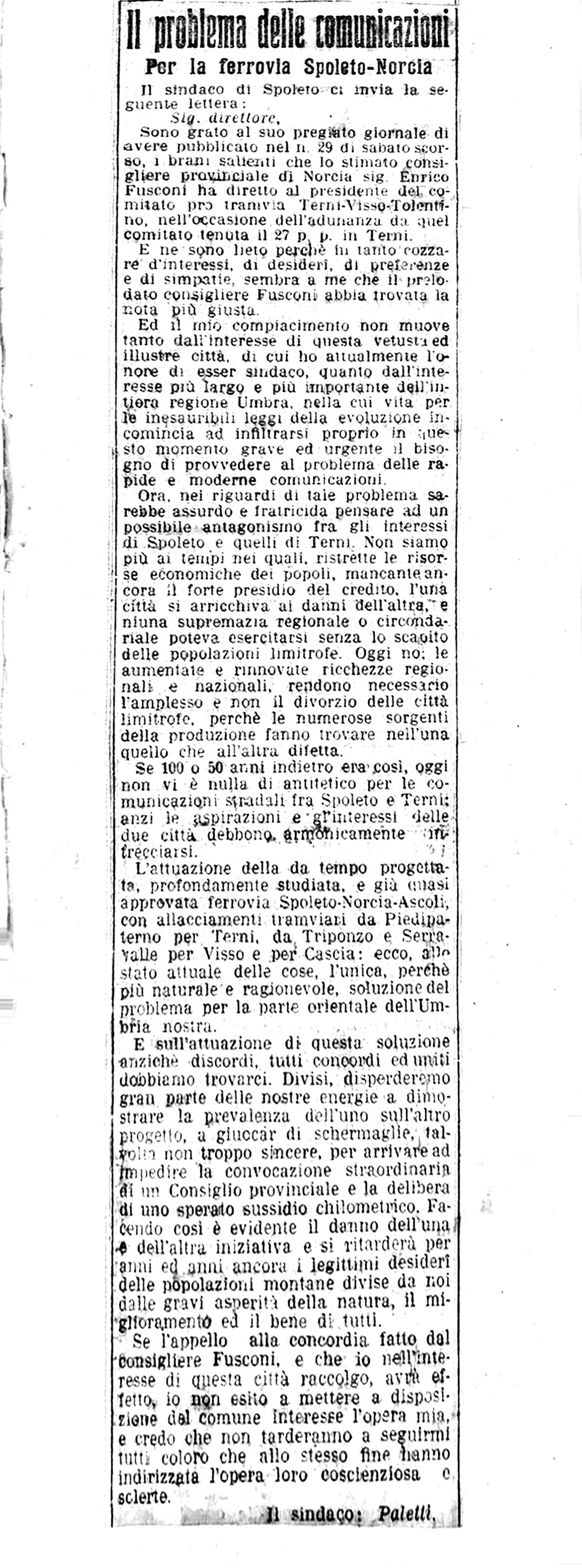 Il Messaggero | 2 febbraio 1910