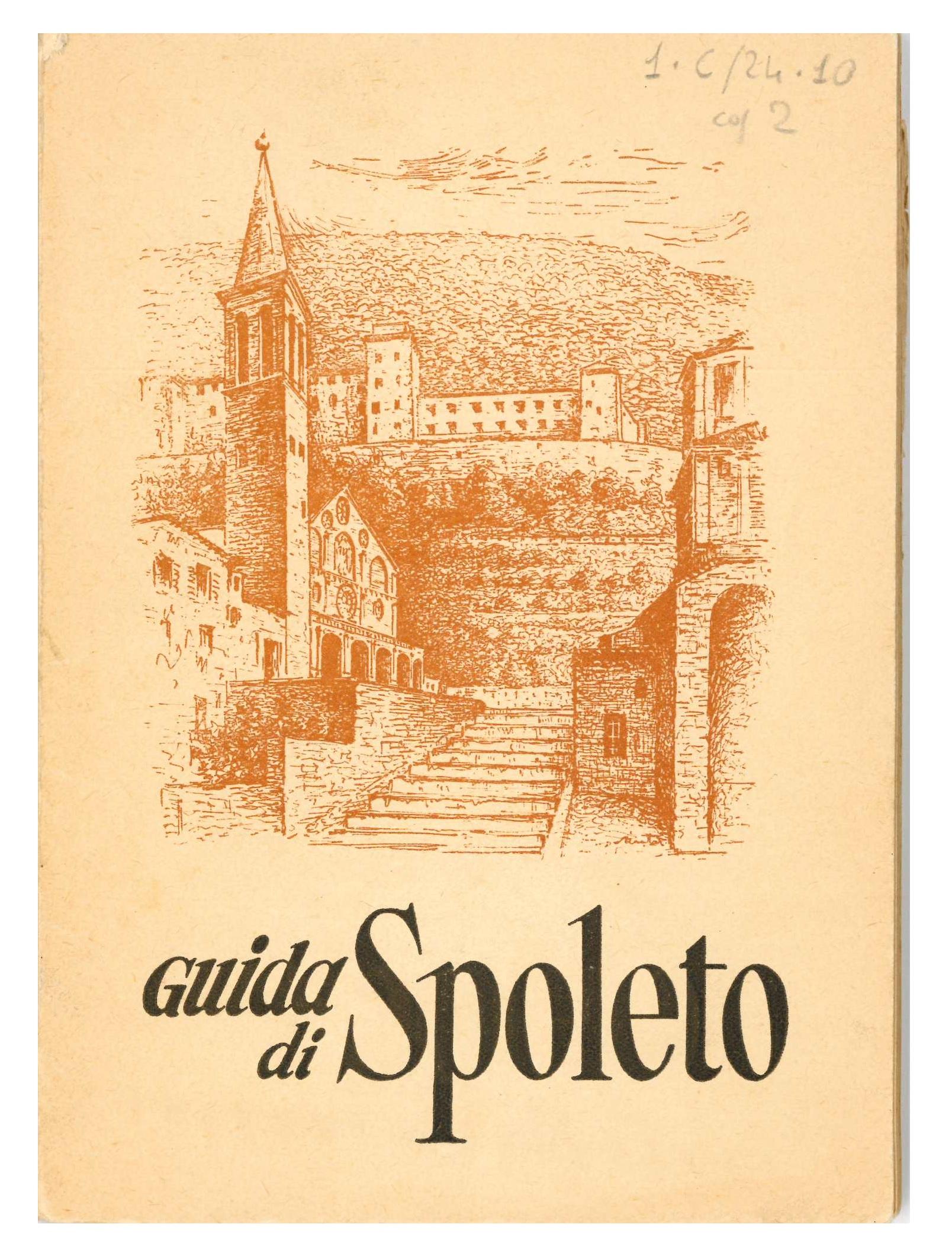 Azienda autonoma di Cura Soggiorno e Turismo | Guida breve di Spoleto (copertina) | 1950