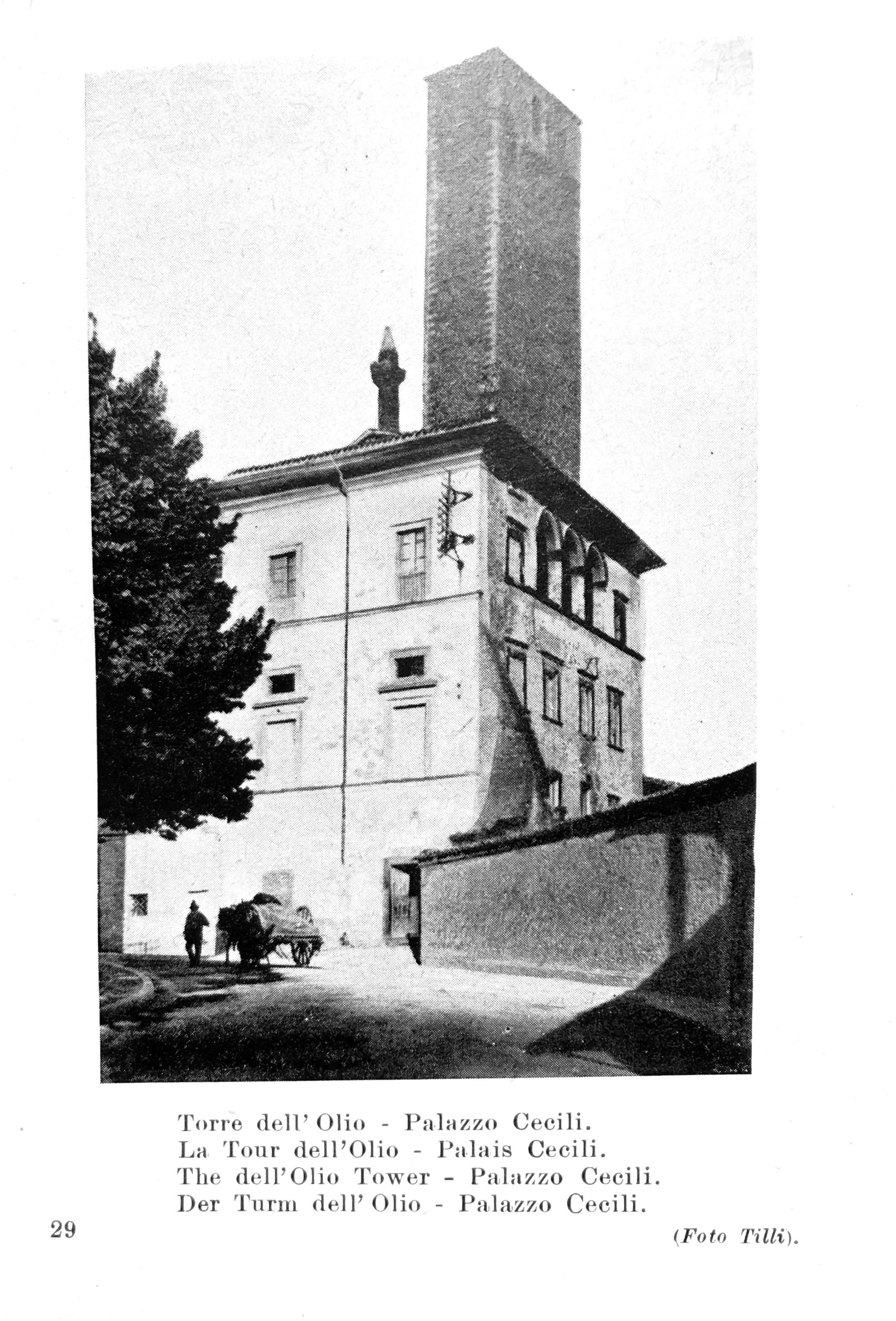 L'Italia monumentale   Torre dell'Olio