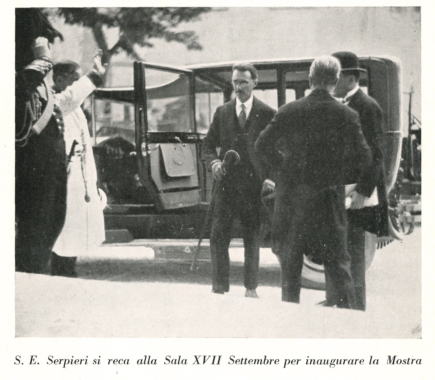 Mostra oli d'oliva | Teatro Massimo 1930
