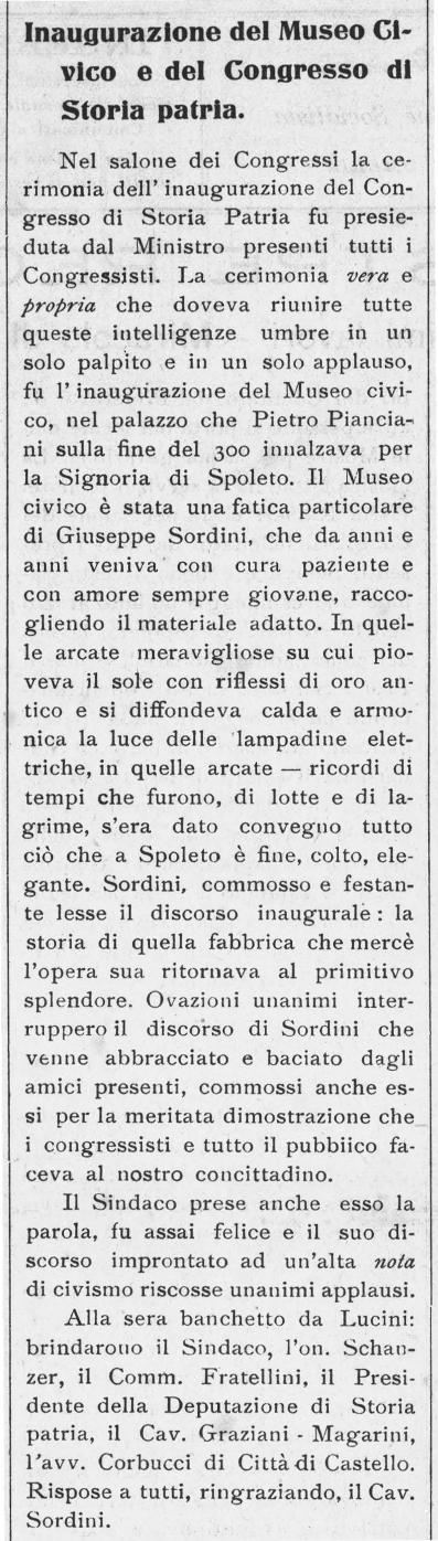 Giovane Umbria | 28 agosto 1910