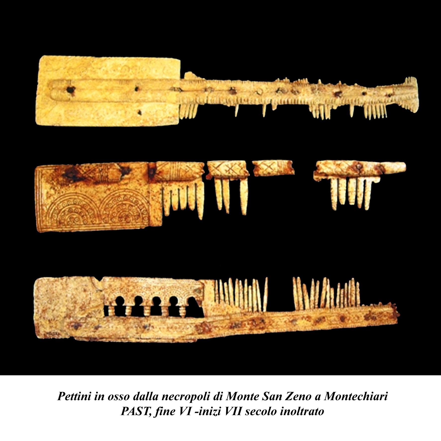 Pettini in osso (V-VII secolo)