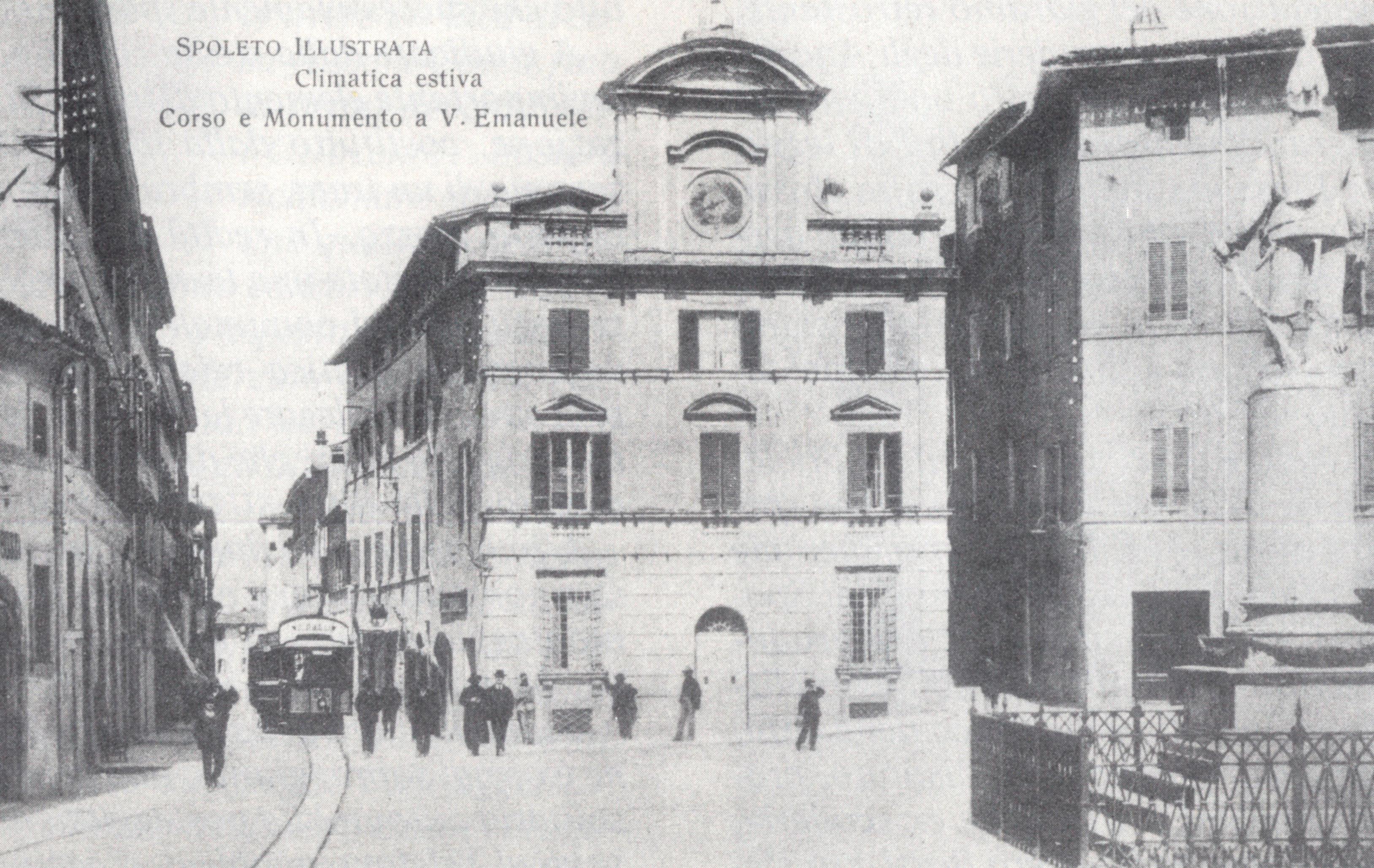 Cartolina    Piazza Vittorio Emanuele II