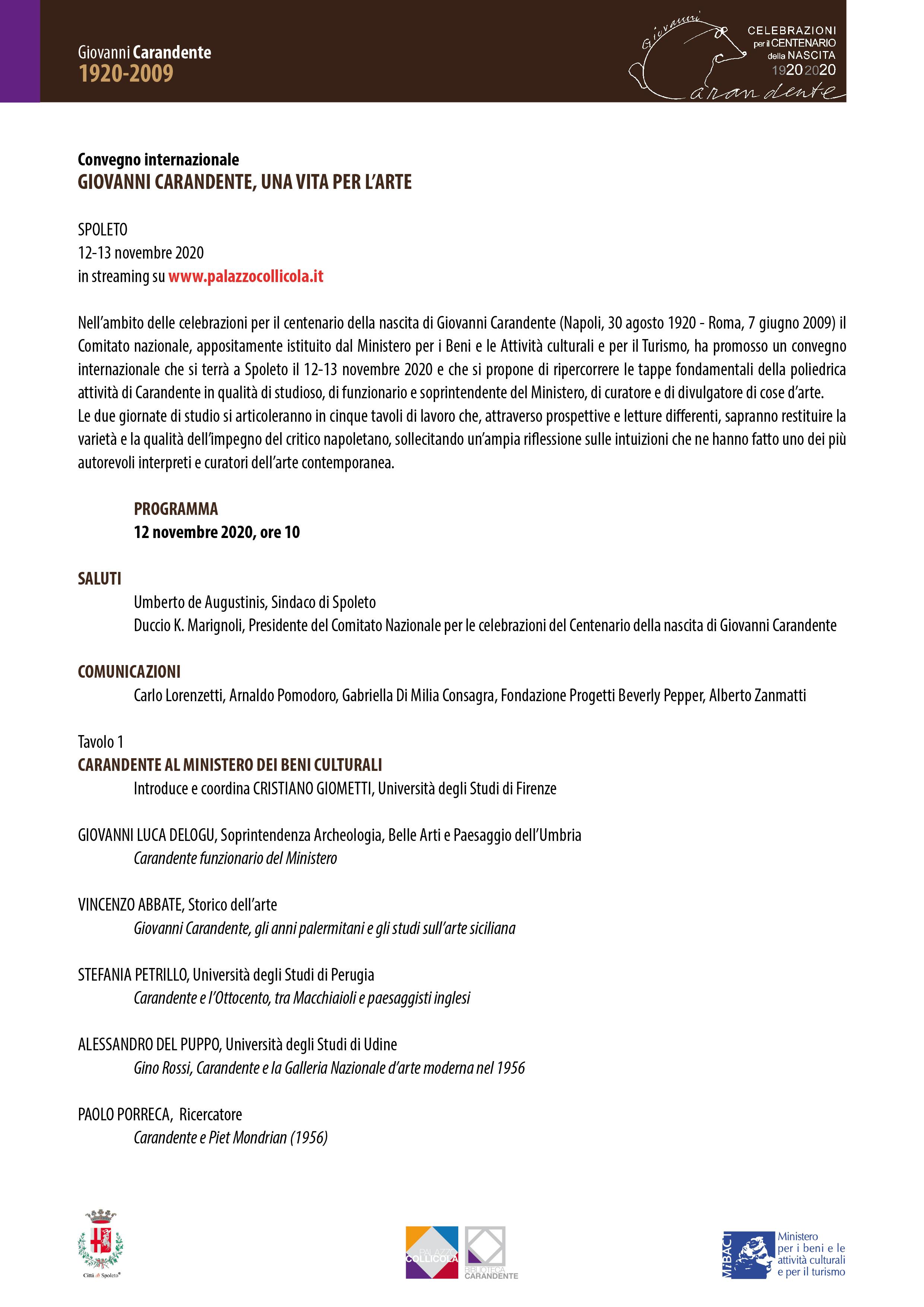 Programma | Pagina 1