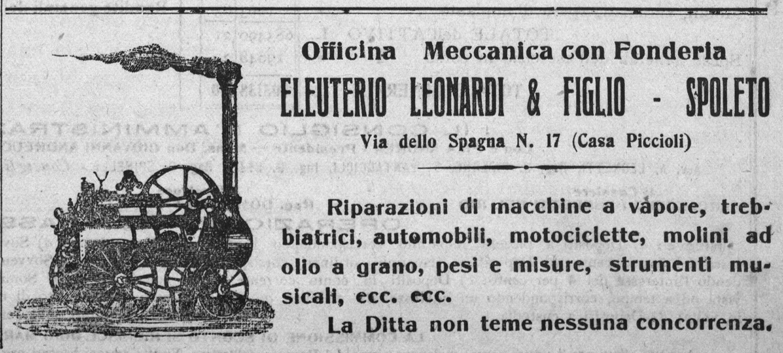 Eleuterio Leonardi e figlio