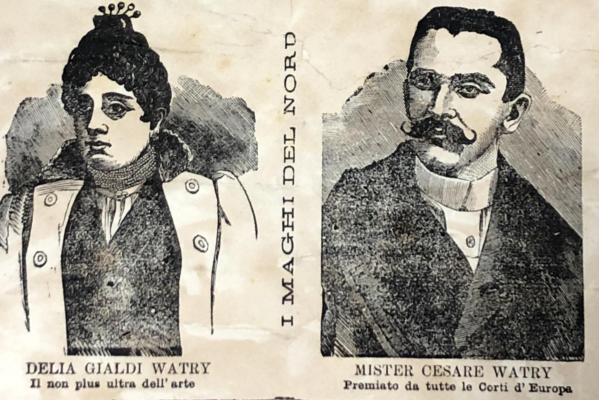 Spettacolo illusionismo | Luglio 1893
