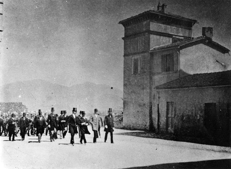 5 settembre 1892   Visita di Re Umberto I