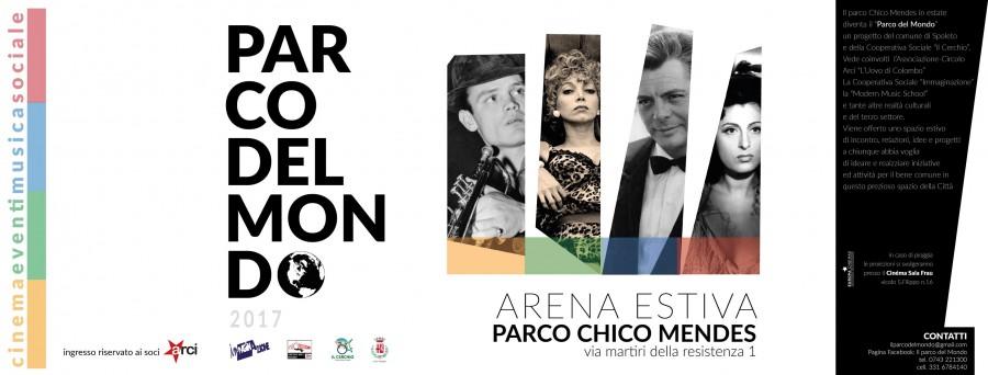 <!--:it-->Il Parco del Mondo - Cinema arena estiva<!--:--><!--:en-->Il Parco del Mondo - Open-air cinema in Summer<!--:--> @ Parco Chico Mendes | Spoleto | Umbria | Italia