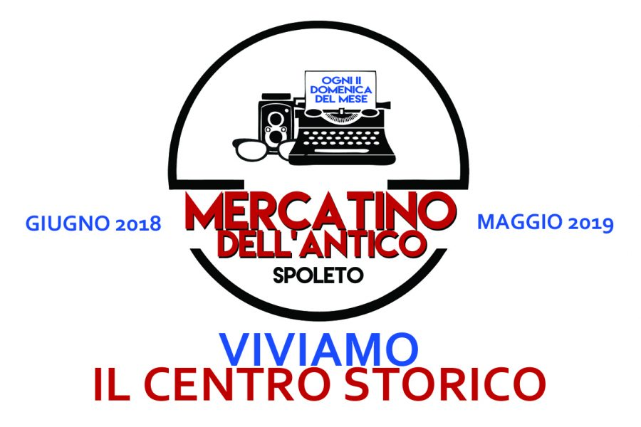 <!--:it-->Mercatino dell'Antico<!--:--><!--:en-->Antiques Market<!--:--> @ Giardini di Viale Giacomo Matteotti | Spoleto | Umbria | Italia