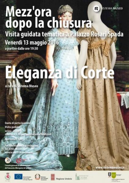 <!--:it-->Mezz'ora dopo la chiusura - Eleganza di corte<!--:--><!--:en-->MEZZ'ORA DOPO LA CHIUSURA - Elegance at Court<!--:--> @ Museo del Tessuto e del Costume | Spoleto | Umbria | Italia