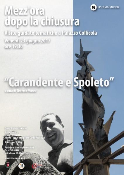 <!--:it-->Mezz'ora dopo la chiusura - CARANDENTE E SPOLETO<!--:--><!--:en-->Mezz'ora dopo la chiusura - CARANDENTE AND SPOLETO<!--:--> @ Palazzo Collicola Arti Visive | Spoleto | Umbria | Italia