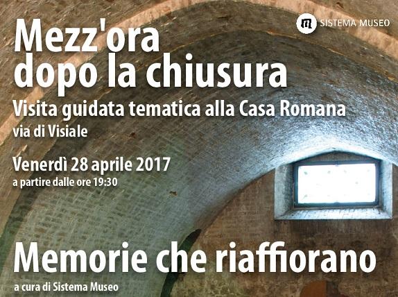 <!--:it-->Mezz'ora dopo la chiusura - MEMORIE CHE RIAFFIORANO - La casa romana di Spoleto<!--:--><!--:en-->Mezz'ora dopo la chiusura - RESURFACING MEMORIES<!--:--> @ Casa Romana | Spoleto | Umbria | Italia
