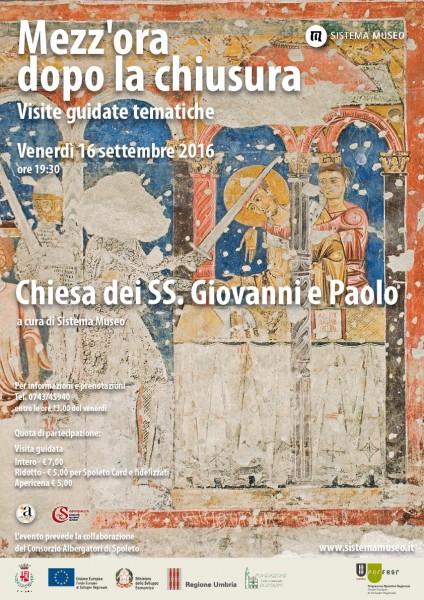 <!--:it-->Mezz'ora dopo la chiusura - CHIESA DEI SS. GIOVANNI E PAOLO<!--:--> @ Chiesa dei SS. Giovanni e Paolo | Spoleto | Umbria | Italia