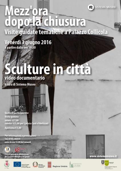 <!--:it-->Mezz'ora dopo la chiusura - Sculture nella città<!--:--> @ Palazzo Collicola Arti Visive | Spoleto | Umbria | Italia