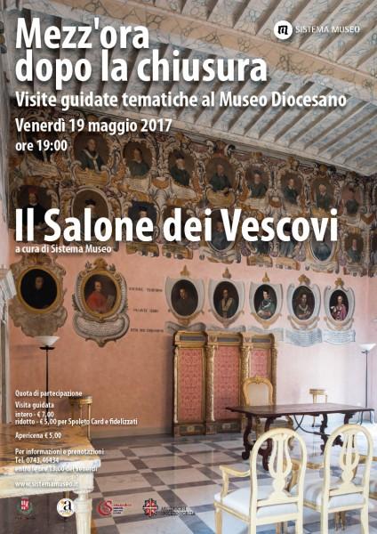 <!--:it-->Mezz'ora dopo la chiusura - IL SALONE DEI VESCOVI<!--:--><!--:en-->Mezz'ora dopo la chiusura - THE BISHOPS' ROOM<!--:--> @ Museo Diocesano | Spoleto | Umbria | Italia