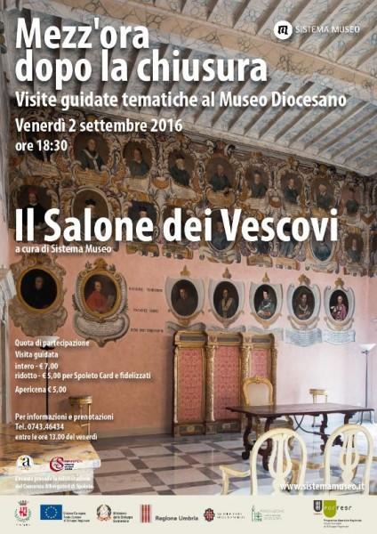 <!--:it-->Mezz'ora dopo la chiusura - IL SALONE DEI VESCOVI<!--:--> @ Museo Diocesano | Spoleto | Umbria | Italia