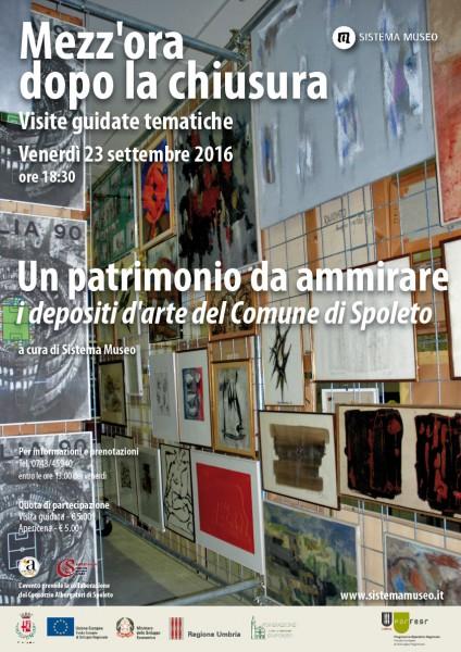 <!--:it-->Mezz'ora dopo la chiusura - UN PATRIMONIO DA AMMIRARE<!--:--> @ Centro operativo Beni Culturali Spoleto | Spoleto | Umbria | Italia