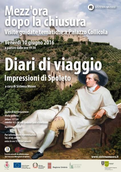 <!--:it-->Mezz'ora dopo la chiusura - DIARI DI VIAGGIO Impressioni di Spoleto<!--:--><!--:en-->Mezz'ora dopo la chiusura - TRAVEL JOURNALS Impressions of Spoleto<!--:--> @ Palazzo Collicola Arti Visive | Spoleto | Umbria | Italia