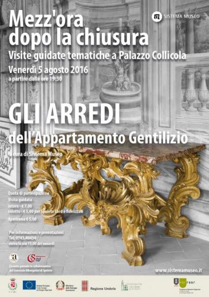 <!--:it-->Mezz'ora dopo la chiusura - GLI ARREDI dell'appartamento gentilizio<!--:--> @ Palazzo Collicola Arti Visive | Spoleto | Umbria | Italia