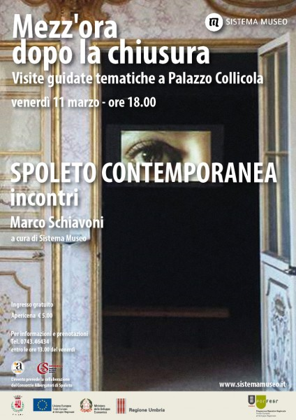 <!--:it-->Mezz'ora dopo la chiusura - Spoleto Contemporanea<!--:--><!--:en-->Mezz'ora dopo la chiusura - Spoleto Contemporanea<!--:--> @ Palazzo Collicola   Spoleto   Umbria   Italia