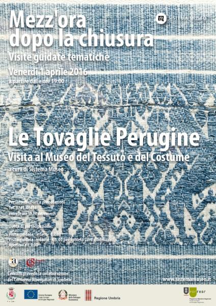 <!--:it-->Mezz'ora dopo la chiusura - Le tovaglie perugine<!--:--> @ Museo del Tessuto e del Costume | Spoleto | Umbria | Italia