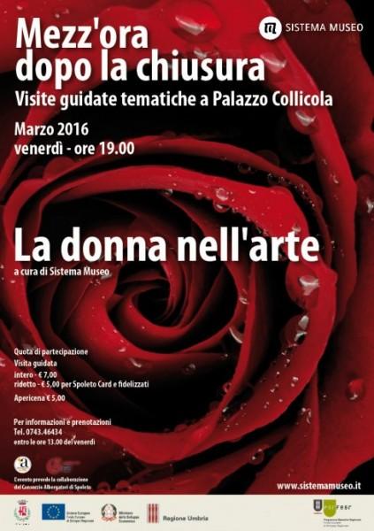<!--:it-->Mezz'ora dopo la chiusura - La donna nell'arte<!--:--><!--:en-->Women in Art<!--:--> @ Palazzo Collicola | Spoleto | Umbria | Italia
