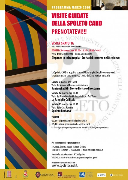 <!--:it-->Visita guidata della Spoleto Card <!--:--><!--:en-->Spoleto Card guided visit<!--:--> @ Casa Romana | Spoleto | Umbria | Italia