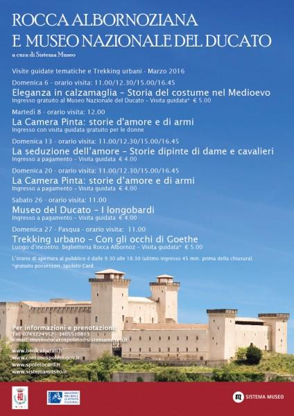 <!--:it-->Visite guidate tematiche e Trekking urbani <!--:--> @ Rocca Albornoziana di Spoleto | Spoleto | Umbria | Italia