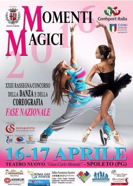 <!--:it-->Momenti Magici - XXIII Rassegna/Concorso della Danza e della Coreografia<!--:--> @ Teatro Nuovo Gian Carlo Menotti | Spoleto | Italia