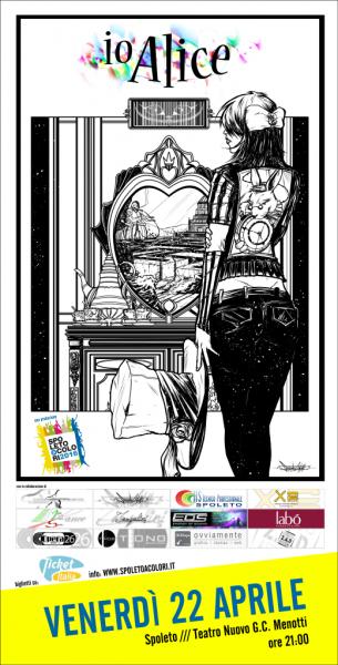 <!--:it-->Io Alice - Storia di un viaggio<!--:--> @ Teatro Nuovo Gian Carlo Menotti | Spoleto | Italia