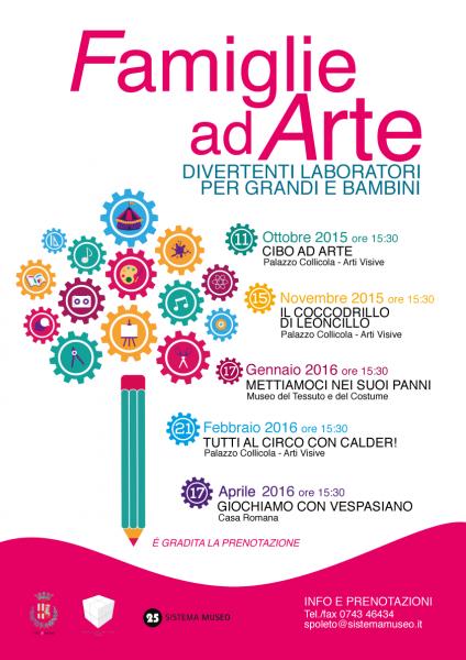 <!--:it-->Famiglie ad Arte - Giochiamo con Vespasiano<!--:--> @ Casa Romana | Spoleto | Umbria | Italia