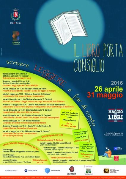 <!--:it-->Il Maggio dei Libri: Il libro porta consiglio<!--:--> @ Archivio di Stato - Sezione di Spoleto | Spoleto | Umbria | Italia