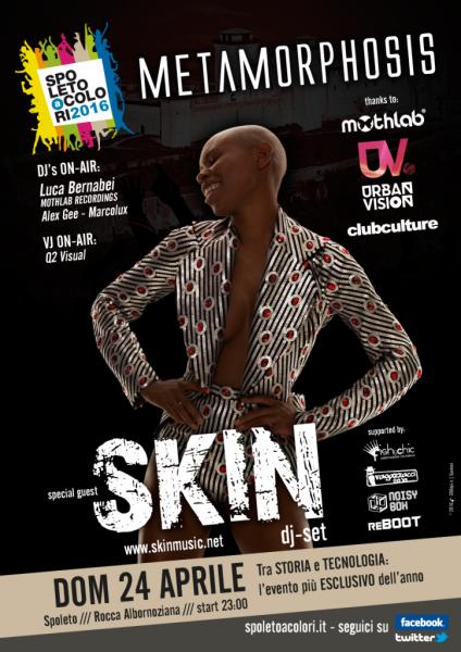 <!--:it-->Metamorphosis - Special guest: DJ SKIN<!--:--> @ Rocca Albornoziana | Spoleto | Italia