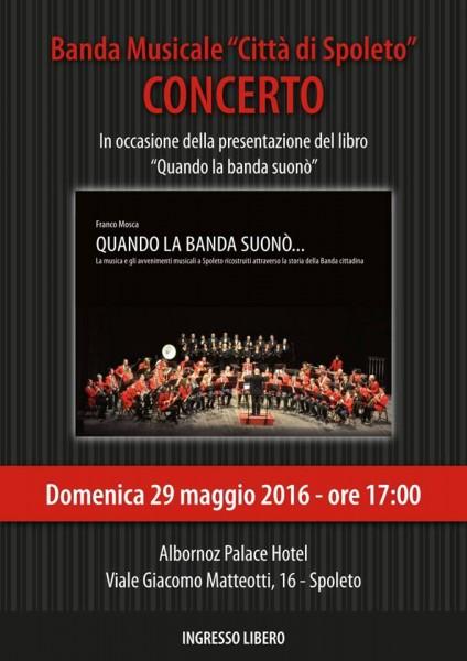 <!--:it-->Concerto e presentazione del libro di Franco Mosca<!--:--> @ Hotel Albornoz | Spoleto | Umbria | Italia