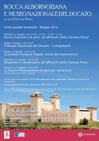 <!--:it-->Visite alla Rocca Albornoziana e al Museo Nazionale del Ducato<!--:--> @ Rocca Albornoziana