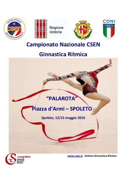 <!--:it-->Campionato Nazionale CSEN di Ginnastica Ritmica<!--:--> @ Palazzetto dello Sport Don Guerrino Rota