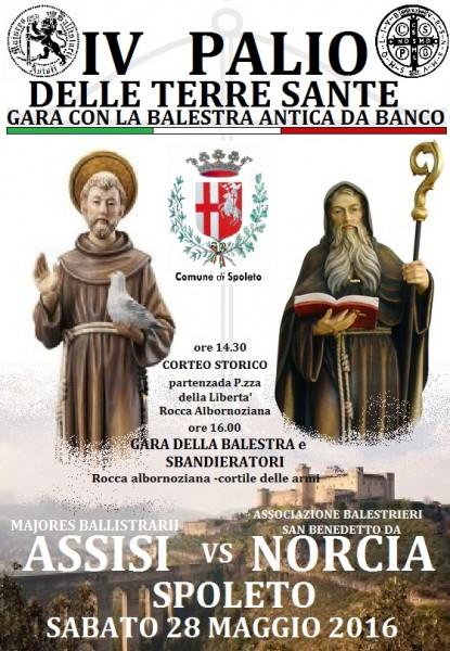 <!--:it-->IV Palio delle Terre Sante - Gara con la balestra antica da banco<!--:--> @ Piazza della Libertà | Spoleto | Umbria | Italia