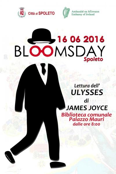 <!--:it-->Bloomsday Spoleto - Lettura integrale dell'Ulisse di J. Joyce<!--:--> @ Biblioteca Comunale G. Carducci | Pinerolo | Piemonte | Italia
