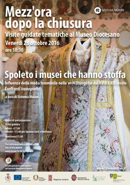 <!--:it-->Mezz'ora dopo la chiusura - SPOLETO, I MUSEI CHE HANNO STOFFA<!--:--> @ Museo Diocesano | Spoleto | Umbria | Italia