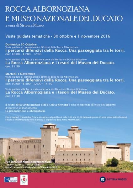 <!--:it-->Visite guidate tematiche alla Rocca Albornoziana e al Museo Nazionale del Ducato<!--:--> @ Rocca Albornoziana | Spoleto | Umbria | Italia