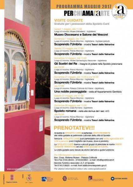 <!--:it-->Visite guidate - gratuite per i possessori della Spoleto Card<!--:--><!--:en-->Spoleto Card Guided Tours<!--:--> @ Rocca Albornoz | Spoleto | Umbria | Italia