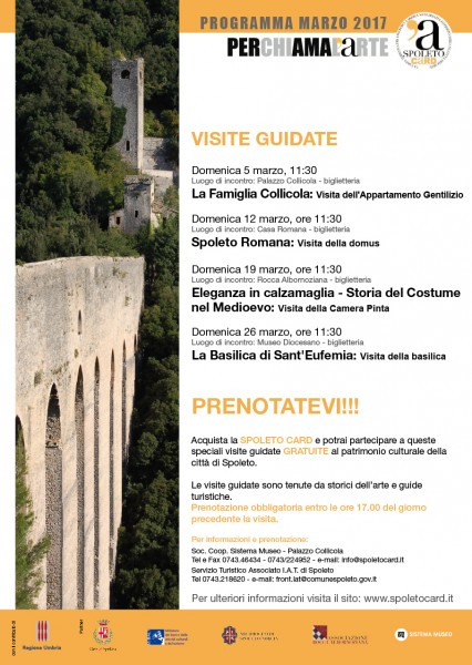 <!--:it-->Visite guidate Spoleto Card<!--:--><!--:en-->Spoleto Card guided tours<!--:--> @ Palazzo Collicola | Spoleto | Umbria | Italia