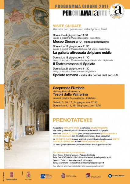 <!--:it-->Visite guidate - gratuite per i possessori della Spoleto Card<!--:--><!--:en-->Spoleto Card Guided Tours<!--:--> @ Spoleto | Spoleto | Umbria | Italia